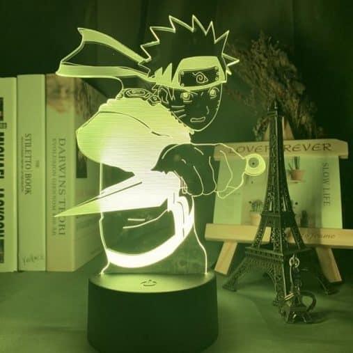 Naruto Kunai 3D Illusion Led Lamp
