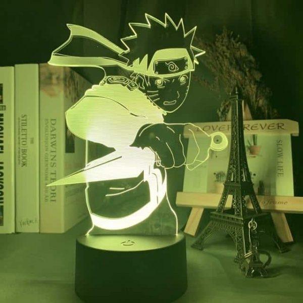 Obito x Kakashi 3D Illusion Led Lamp (Naruto)