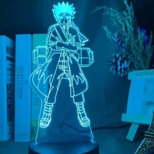 Naruto Sennin (Sage) Mode 3D Illusion Led Lamp (Naruto)
