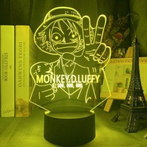 Luffy Bounty 3D Illusion Led Lamp (One Piece)