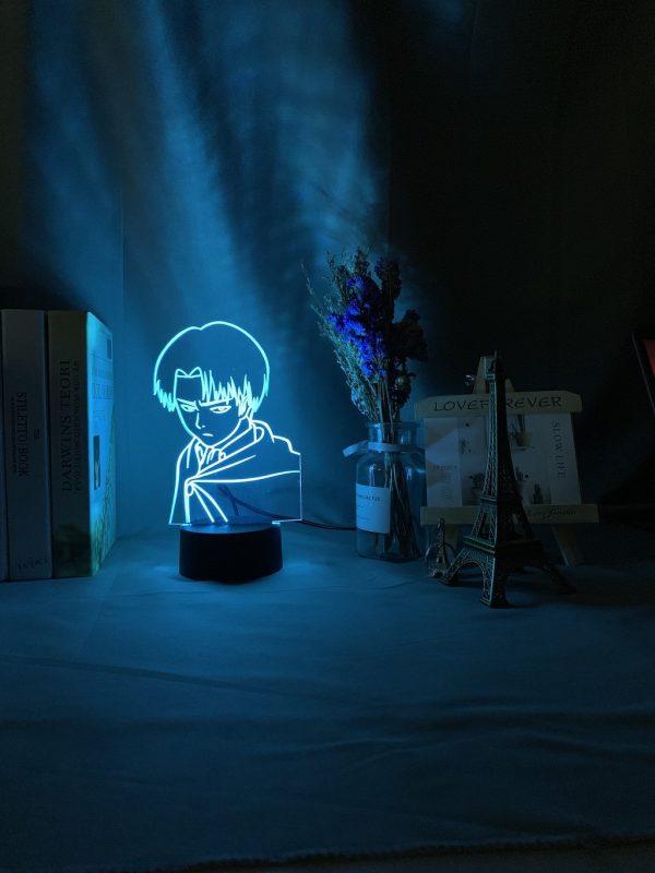 Young Goku 3D Illusion Led Lamp (Dragon Ball)