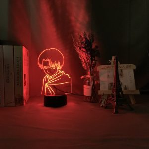 Young Goku 3D Illusion Led Lamp (Dragon Ball)