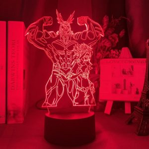 All Might – Toshinori Yagi – 3D Illusion Led Lamp (My Hero Academia)
