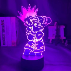 Gon Freecs 3D Illusion Led Lamp (Hunter X Hunter)
