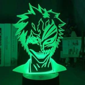 Ichigo Kurosaki larvatum 3D LED lucerna Illusion (Suspendisse)
