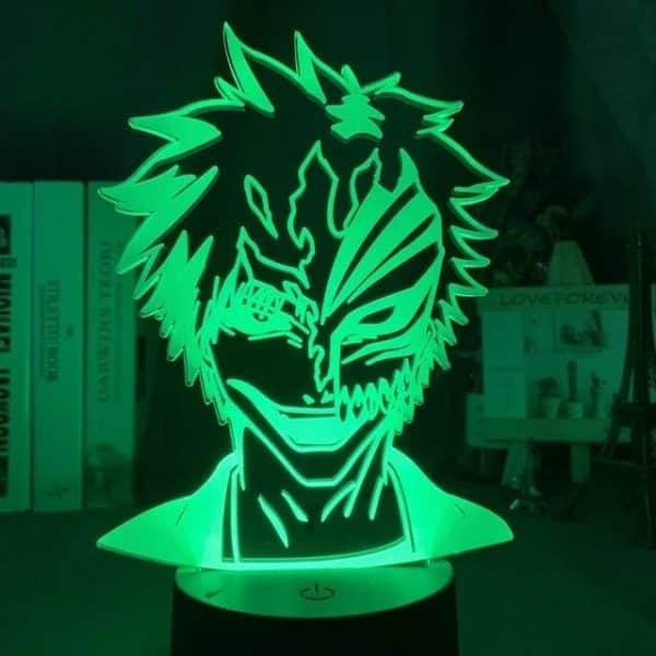 Ichigo Kurosaki Masked 3D Illusion Led Lamp (Bleach)