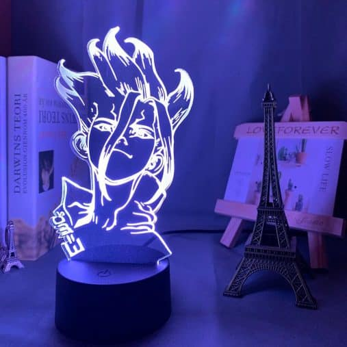 Senku Ishigami 3D Illusion Led Lamp