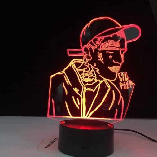 Lil Peep 3D Illusion Led Lamp