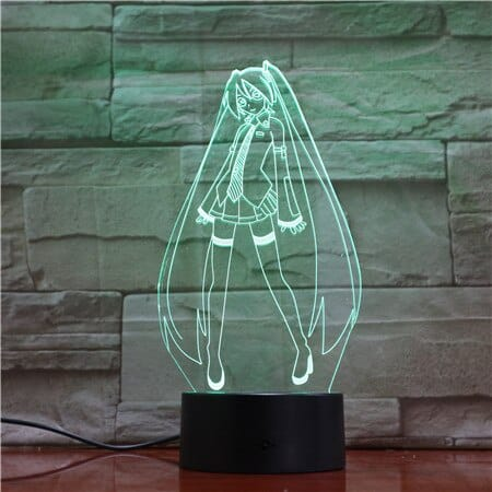 Sailor Moon 3D Illusion Led Lamp (Sailor Moon)