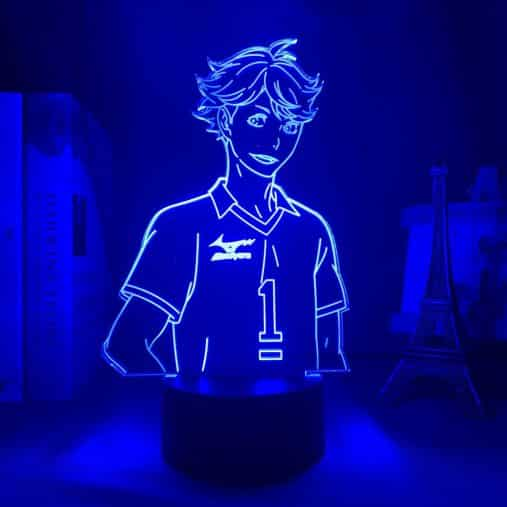 Tooru (Tōru) Oikawa 3D Illusion Led Lamp