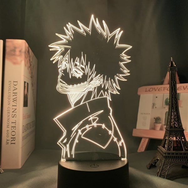 Dabi 3D Illusion Led Lamp (My Hero Academia)