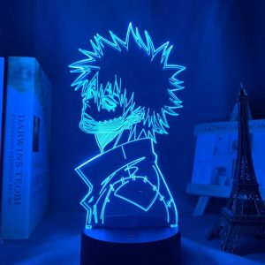 Dabi 3D Illusion Led Lamp (My Hero Academia)