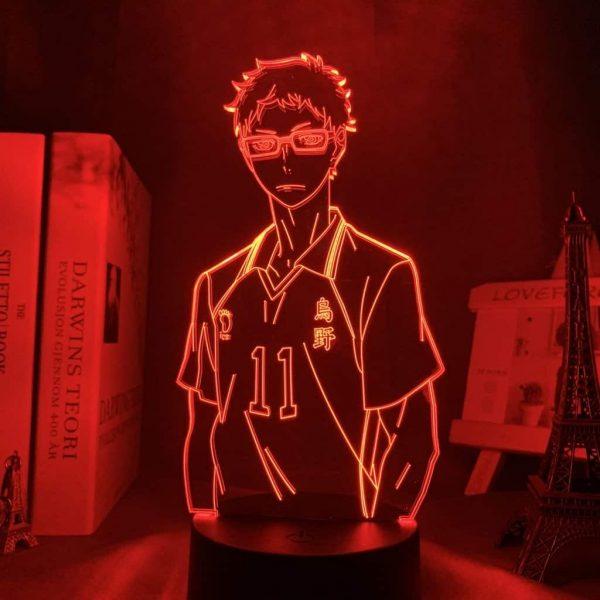 Kei Tsukishima 3D Illusion Led Lamp (Haikyuu)