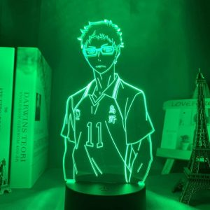 Kei Tsukishima 3D Illusion Led Lamp (Haikyuu)