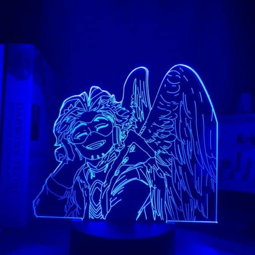 Keigo Takami (Hawks) 3D Illusion Led Lamp
