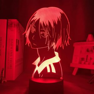 Lámpara LED Kenma Kozume 3D Illusion (Haikyuu)