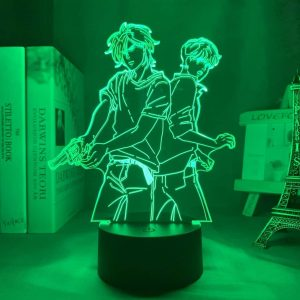 Ash Lynx and Eiji Okumura Led Anime Lamp (Banana Fish)