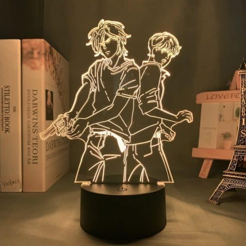 Ash Lynx and Eiji Okumura 3D Illusion Led Lamp