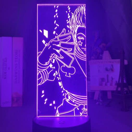 Hisoka Cards 3D Illusion Led Lamp