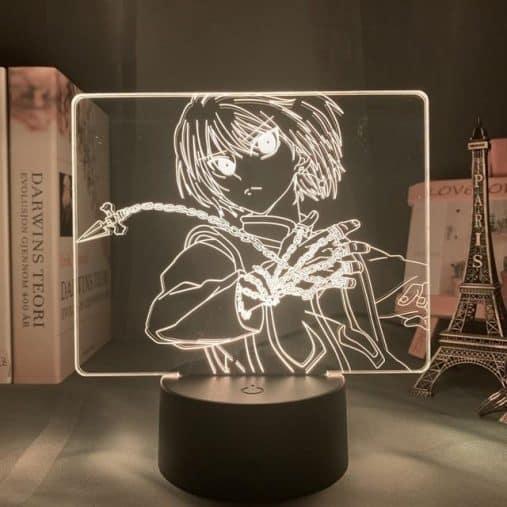 Kurapika Chains 3D Illusion Led Lamp