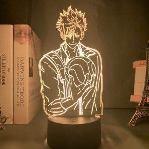 Tetsuroo (Tetsurō) Kuroo Led Anime Lamp (Haikyuu)