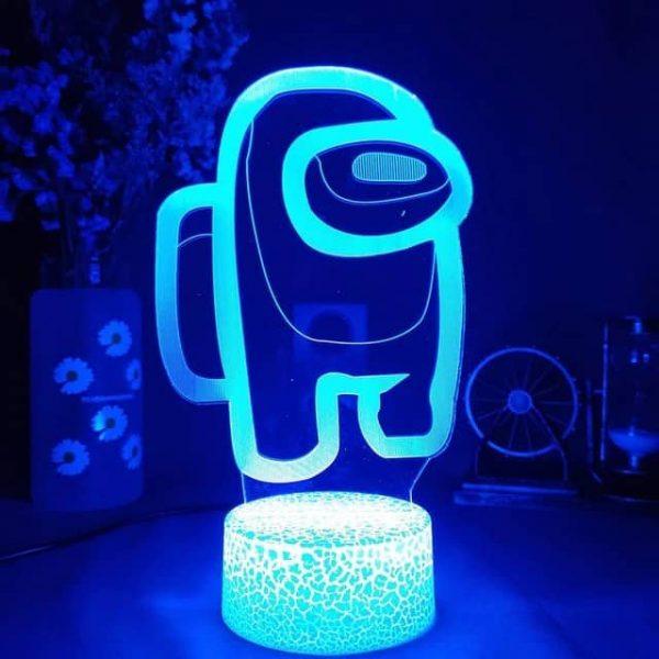 Among Us 3D Illusion Led Lamp
