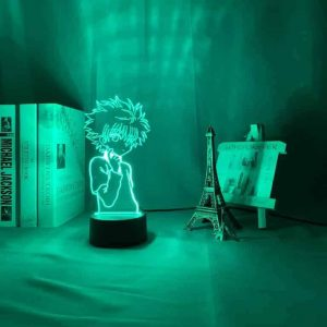 Young Killua Zoldyck 3D Illusion Led Lamp (Hunter X Hunter)