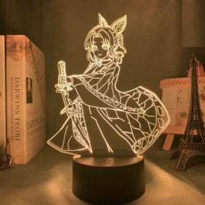 Shinobu Kocho Led Anime Lamp (Demon Slayer)