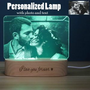 Customized 3D Night Light Desk Lamp