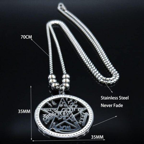Wicca Tetragrammaton Pendant