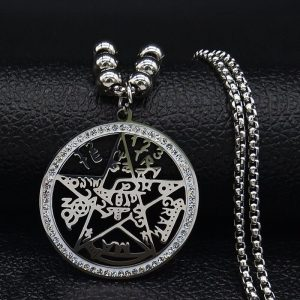 Wicca Tetragrammaton Anhänger