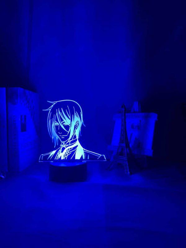 Black Butler 3D Illusion Led Lamp (Black Butler)
