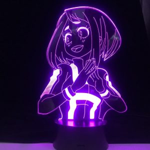 Ochaco Uraraka 3D Illusion Led Lamp (My Hero Academia)