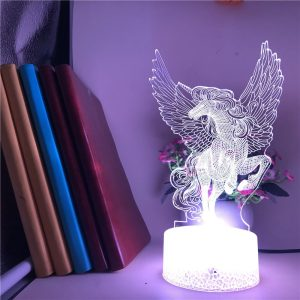 Unicorn 3D Illusion Led Lamp