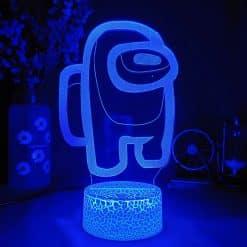 Unter uns 3D Illusion Led Lampe