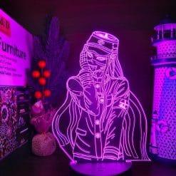 Korekiyo Shinguji 3D Illusion Led Lamp