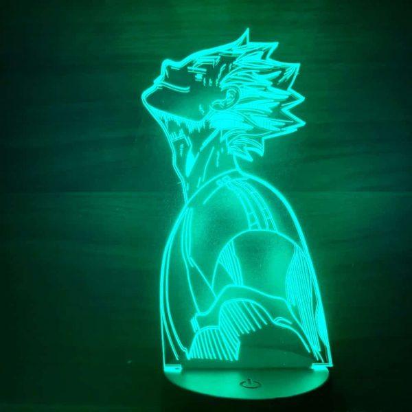 Kōtarō Bokuto 3D Illusion Led Lamp (Haikyuu)