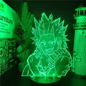 Eijiro Kirishima Led Anime Lamp (My Hero Academia)
