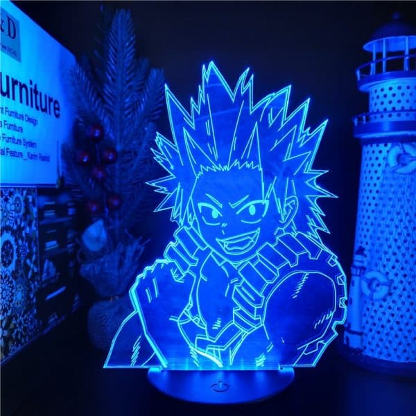 Eijiro Kirishima Led Anime Lamp (My Hero Academia)