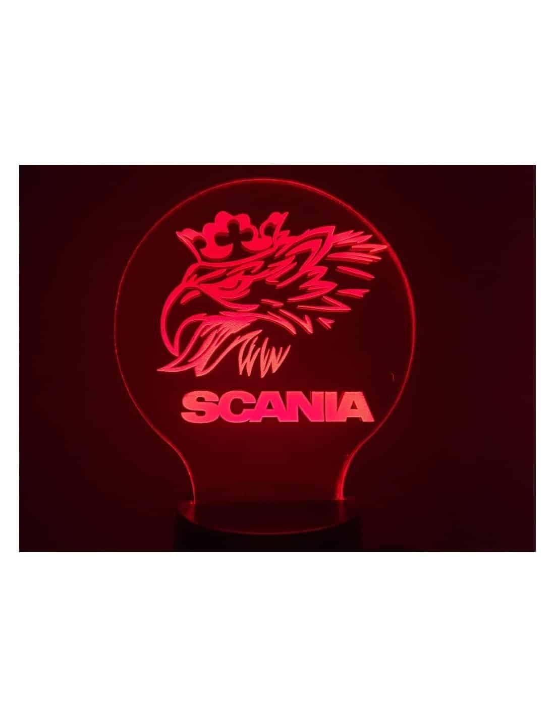 Logo Scania 3D Illusion Led Lamp