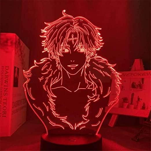 Chrollo Lucilfer Led Anime Lamp (Hunter X Hunter)