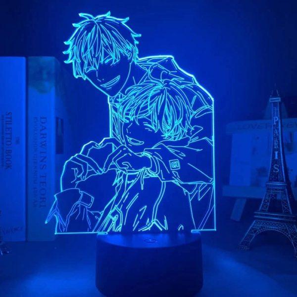 Mafuyu and Uenoyama Led Anime Lamp (Given)