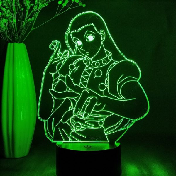 Illumi Zoldyck Led Anime Lamp (Hunter X Hunter)