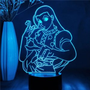 Illumi Zoldyck Led Anime Lamp (Hunter X Hunter)