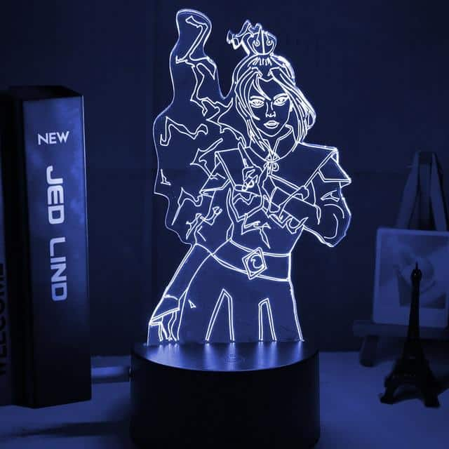 Princess Azula Led Anime Lamp (Avatar the Last Airbender)