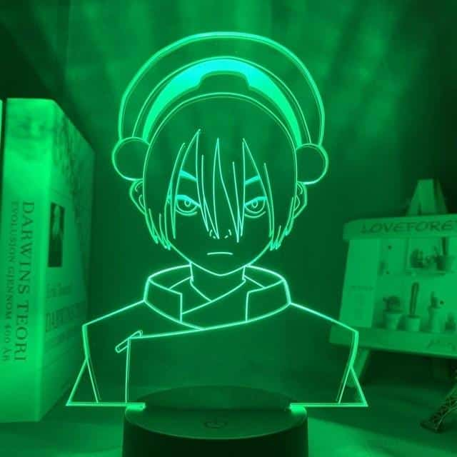 Toph Beifong Led Anime Lamp (Avatar the Last Airbender)