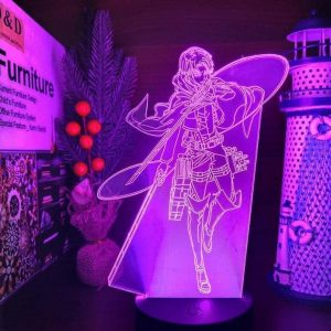Levi Ackerman Led Anime Lamp (Attack on Titan)