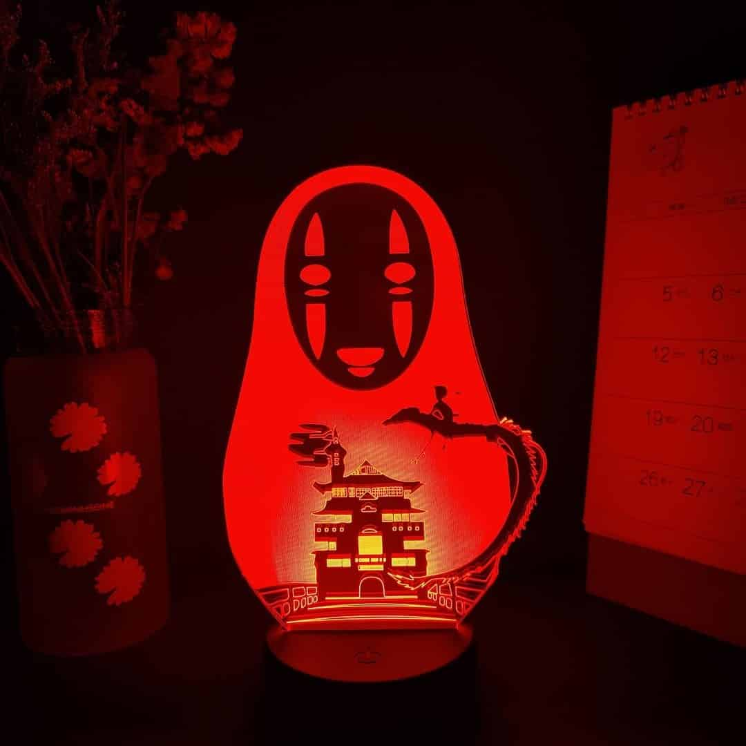 No Face Led Anime Lamp (Spirited Away)