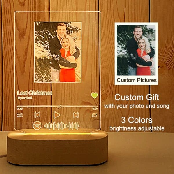 Custom Acrylic Spotify Plaque