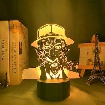 Osamu Dazai Led Anime Lamp (Bungo Stray Dogs)